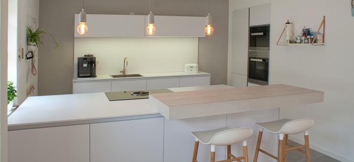 Kiel, ganz in weiß - Küchenhaus Maus GmbH